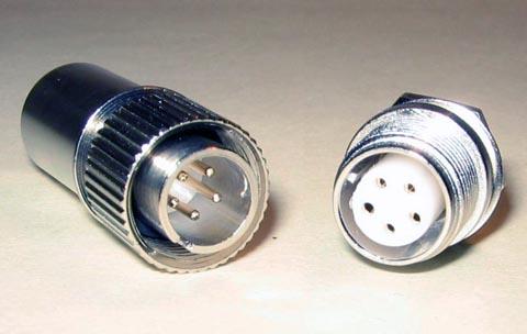 Conectores circulares para aplicaciones industriales y ferroviarias