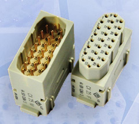 Conectores rectangulares modulares
