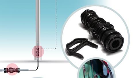 Ensamblador de cable para el mercado LED