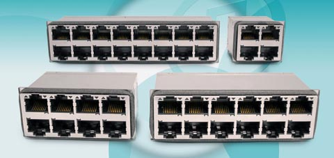 Módulo conector para switches Ethernet 10GBASE-T