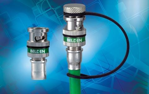 Conector BNC resistente al ambiente