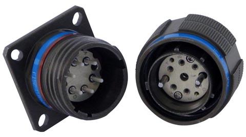 Conector compatible con la especificación ARINC 801
