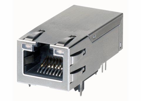 Conectores para controladores integrados monopuerto PoE+
