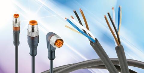 Gama de conectores M8 y M12 clase IP67