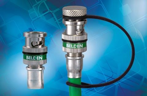 Conector BNC con sellado ecológico