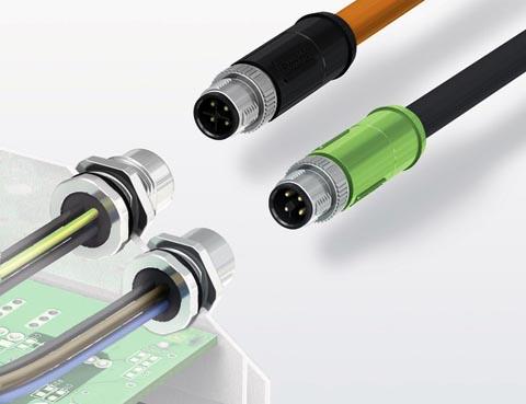 Conectores M12 para potencia