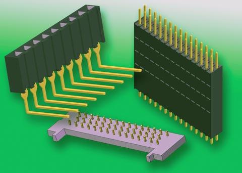 Nuevos conectores de PCB y BTB