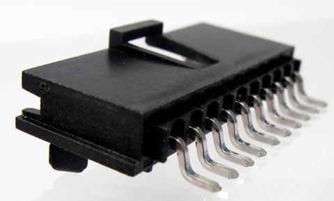 Conectores SMT de 90 ° macho
