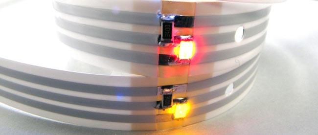 Cintas de luz LED para iluminación decorativa