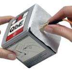 Toallitas para fibra óptica secas QbE
