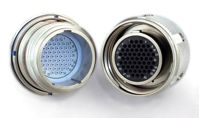 Conectores circulares MIL-DTL-38999 miniaturizados