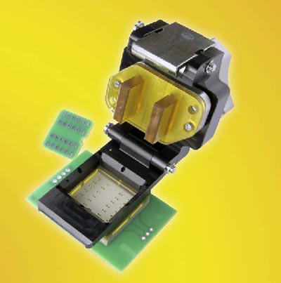 Socket LGA con inclinación de 2.54 mm