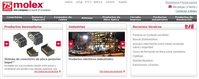 Web de conectores en español