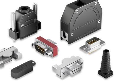 Conectores D-Sub y accesorios