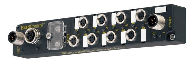 Módulos robustos M8 para Ethernet