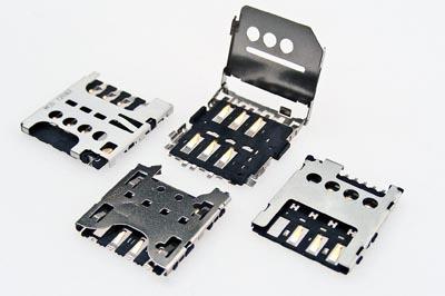 Conectores de tarjetas micro-SIM para dispositivos móviles