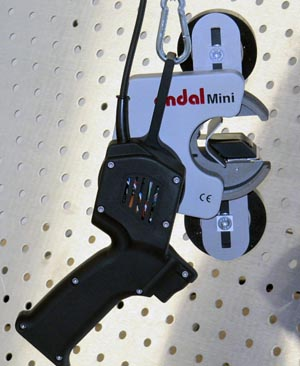 Encintadora manual para conjuntos de cables