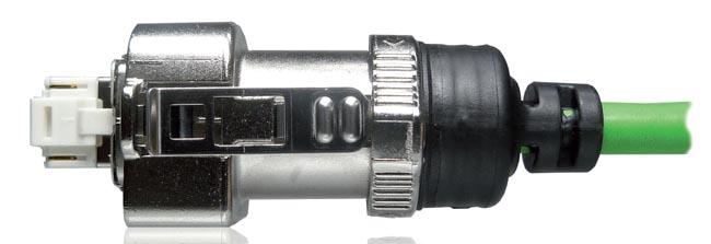 Conector RJ45 sobremoldeado