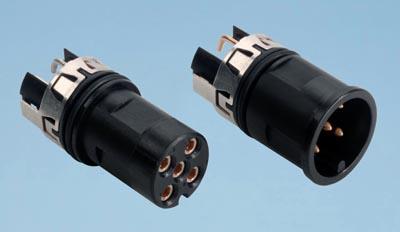 Conectores M12 extremadamente compactos
