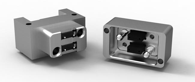 Sistema de interconexión para backplane óptico
