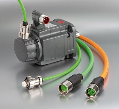 Conectores M23 para servomotores