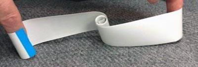 Cable flexible plano retráctil