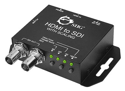Convertidor de 3G-SDI a HDMI