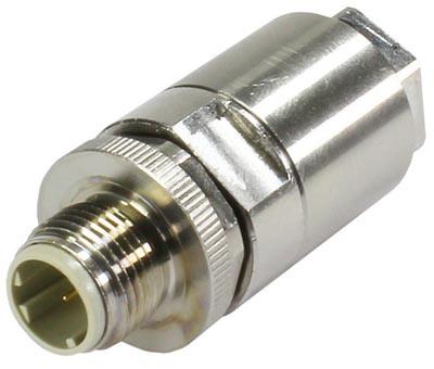 Conector M12 para aplicaciones exteriores