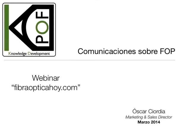 Webminar comunicaciones FOP