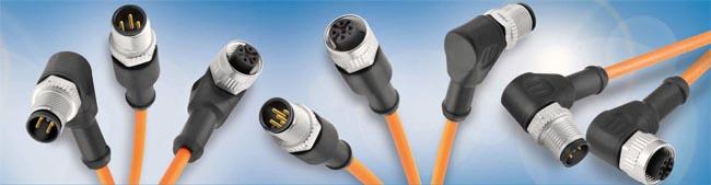Cordset M12 con cables PUR