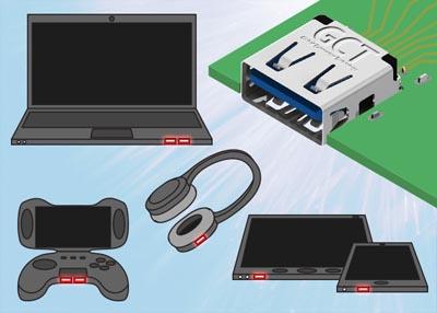 Conectores inversos USB 3.0