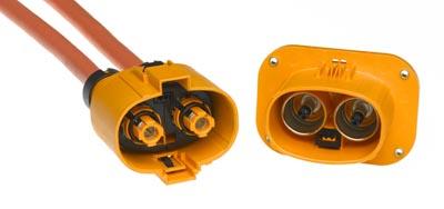 Sistema de conexión de alta tensión