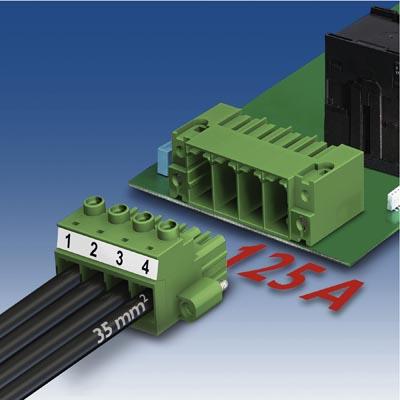 Conectores PCB para alta corriente