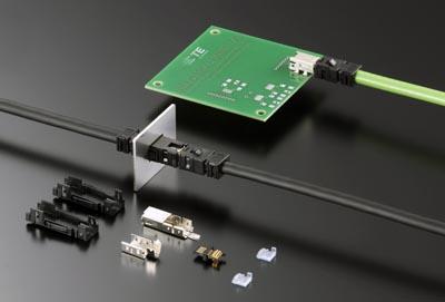 Conectores mini industriales