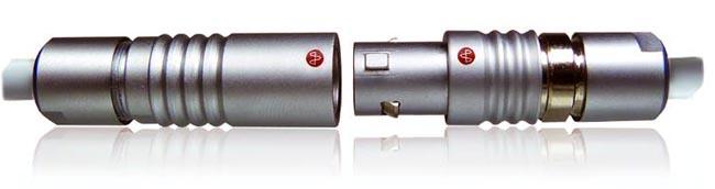 Conectores circulares con push-pull locking