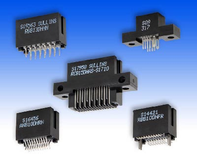Conectores card edge