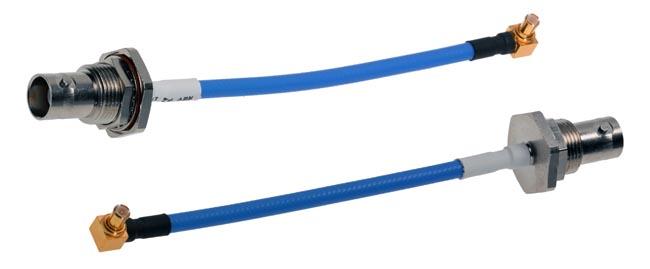 Cables flexibles para microondas