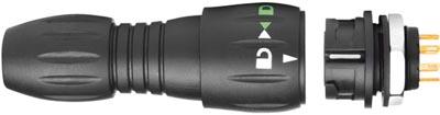 Conectores con protección IP67