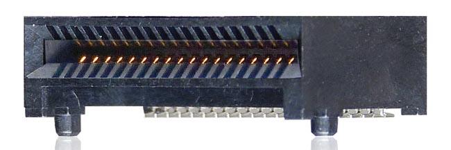 Conector eQSFP+ para 40/100 GbE
