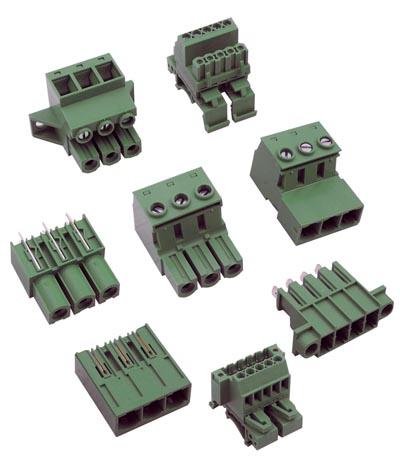Bloques terminales de señal y potencia