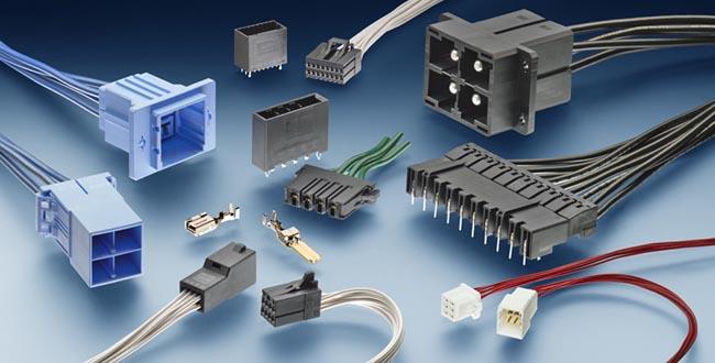 Conectores para circuitos de hasta 65 A