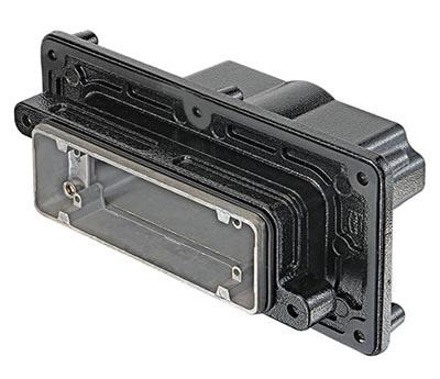 Carcasas para atravesar paneles