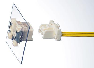 Sistema de conexión cable a placa