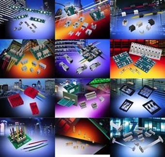 Selector interactivo de conectores industriales