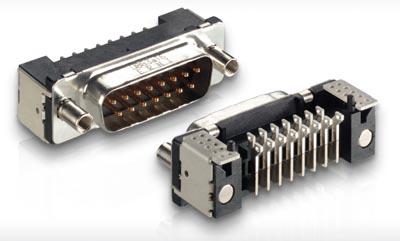 Conectores D-Sub SMT robustos