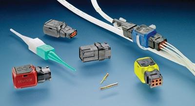 Conectores para la industria aeroespacial