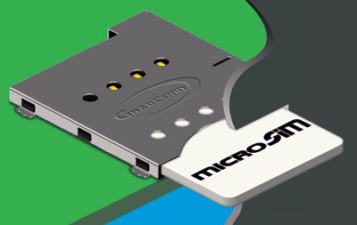 Conector Push-Push para Micro SIM
