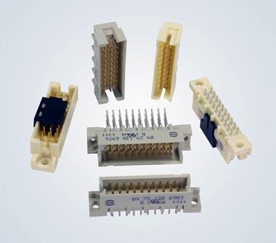 Conectores DIN 41612 tipo 3Q y 3R