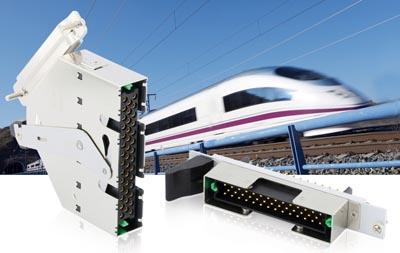 Conectores ferroviarios compatibles EN 45545