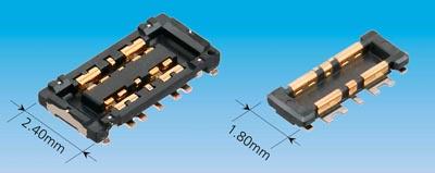 Conector de batería delgado